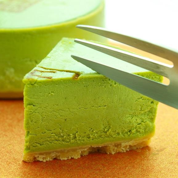 抹茶チーズケーキ02