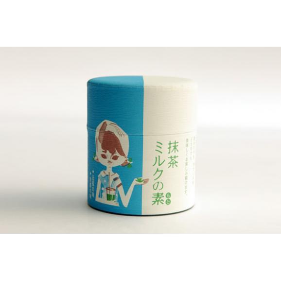 抹茶ミルクの素(缶・200g)01