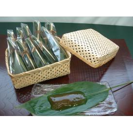 *冷凍商品 笹巻わらび餅 (笹の舞) すだれ折12本入     10月より価格改定