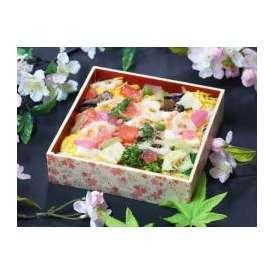色とりどりの具材をちりばめ、伝統と華やかさを感じる雛ちらし寿司です。
