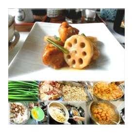 若鶏とレンコンの甘辛揚げ 1袋 敬老の日 惣菜 お惣菜 おかず お試し セット 冷凍 無添加 お弁当
