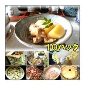 鶏じゃがの和風煮 10袋 敬老の日 惣菜 お惣菜 おかず お試し セット 冷凍 無添加 お弁当