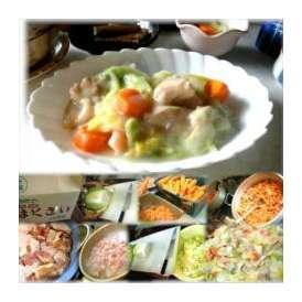 鶏肉と白菜のクリーム煮 1袋 敬老の日 惣菜 お惣菜 おかず お試し セット 冷凍 無添加 お弁当