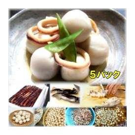 いかと里芋の旨煮 5袋 敬老の日 惣菜 お惣菜 おかず お試し セット 冷凍 無添加 お弁当