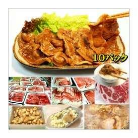 豚の生姜焼 10パック 敬老の日 惣菜 お惣菜 おかず お試し セット 冷凍 無添加 お弁当