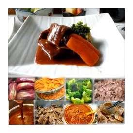 牛タンシチュー 1袋 敬老の日 惣菜 お惣菜 おかず お試し セット 冷凍 無添加 お弁当