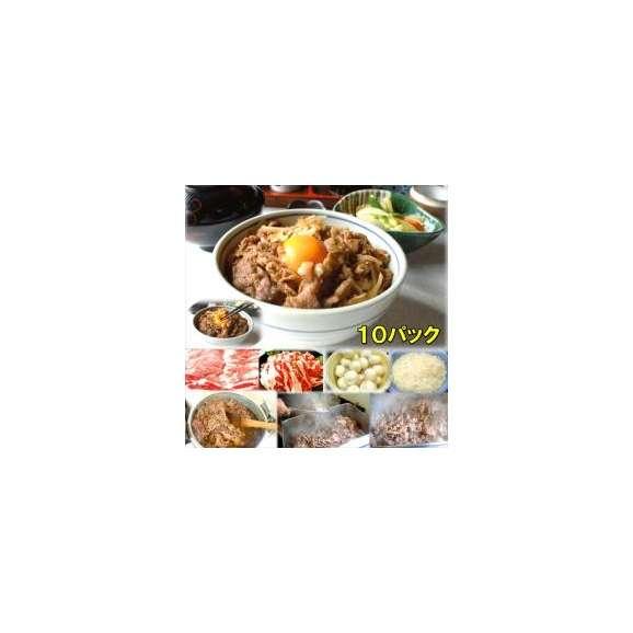 牛カルビ丼の具10食敬老の日惣菜お惣菜おかずお試しセット冷凍無添加お弁当
