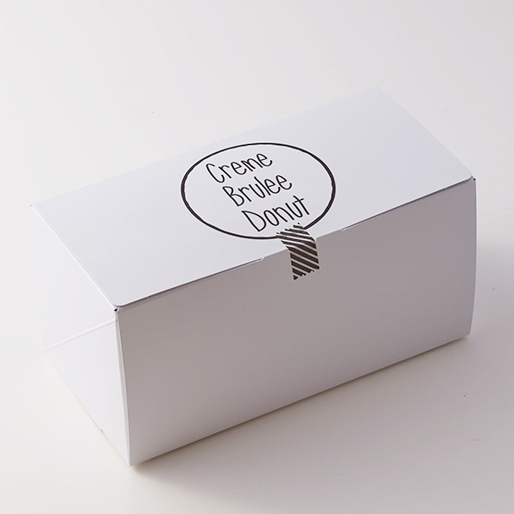 """""""ふわカリ食感"""" 濃厚クレームブリュレドーナツ -5個入り-04"""