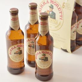 モレッティ ビール 【330ml瓶×6本】