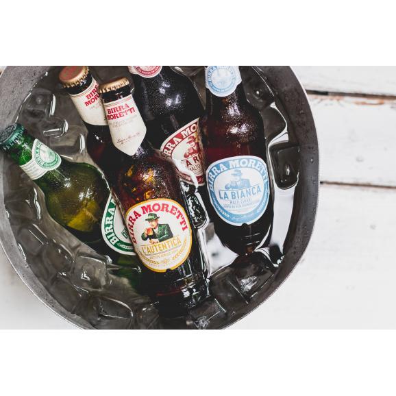 モレッティ ビール 【330ml瓶×6本】06