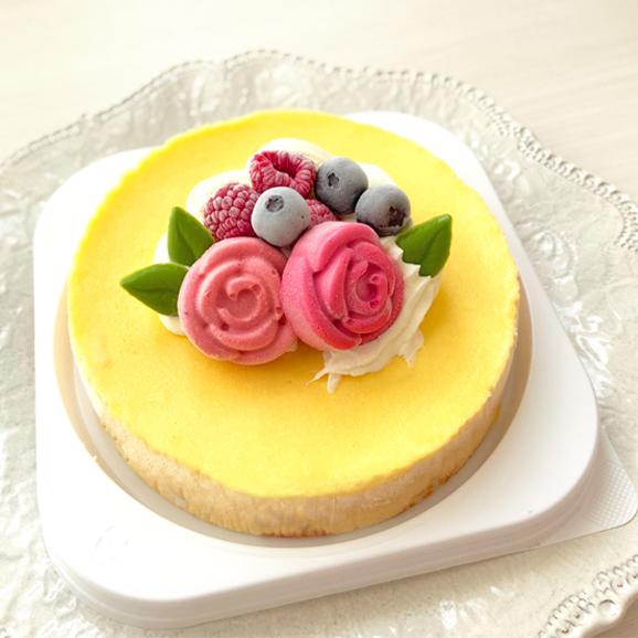 冷凍生ケーキ「ベイクドチーズケーキ」誕生日ケーキ・記念日01