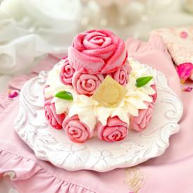 純生・冷凍生ケーキ「ローズガーデン」誕生日ケーキ・記念日・薔薇ケーキ・お菓子
