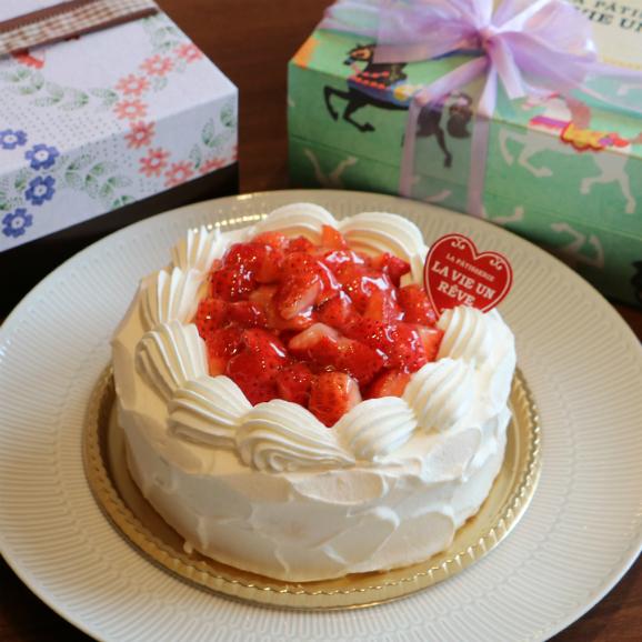 【4~5名】苺ショートケーキ12cm(4号)02