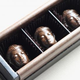 開運大仏チョコレート(ラズベリー、ヘーゼルナッツ、ハニー)