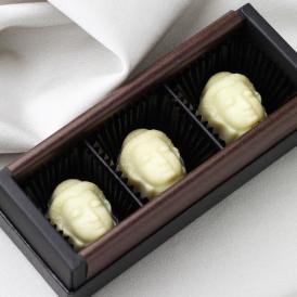 開運白い大仏チョコレート