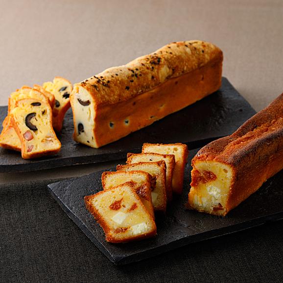 青山モノリス 前菜とデザートのチーズパウンドケーキ01