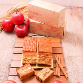 【ル ビアンロゴ入りペティナイフ付き】〜ブルターニュからの贈り物〜ミッシェルさん家のギュッとリンゴパイとシナモンリンゴパイのセット