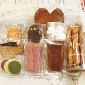 焼き込んだパルミエを中心に伝統的な焼菓子「生地」を味わって頂く、バリエーション豊かなセットです。
