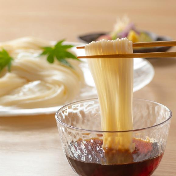 蓮オリジナル 播州古式特選 手延素麺(桐箱入 6個)05