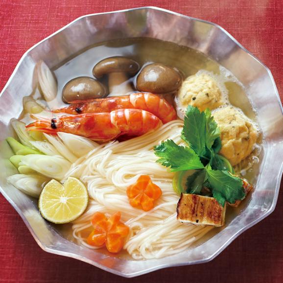 蓮オリジナル 播州古式特選 手延素麺(桐箱入 3個)03