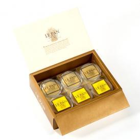ル・パンのとろけるジュレゼリー(瀬戸内レモン、「福寿」純米吟醸と安富ゆず 6個セット)