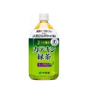 [特定保健用食品]伊藤園 2つの働き カテキン緑茶 1050ml PET1050ml×12本入 [37-107]