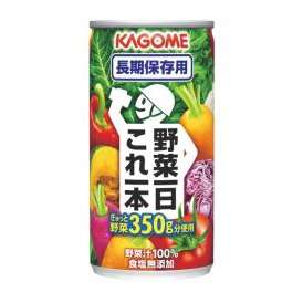 カゴメ 野菜一日これ一本 長期保存用 [190g×30缶]