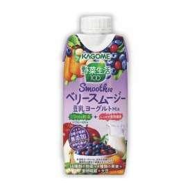 カゴメ 野菜生活100 Smoothie ベリースムージー 豆乳ヨーグルトMix[330ml×12本]