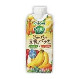 カゴメ 野菜生活100 Smoothie 豆乳バナナMix [330ml×12本]