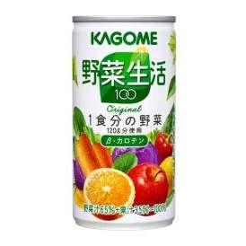 カゴメ 野菜生活100 オリジナル [190g×30缶]