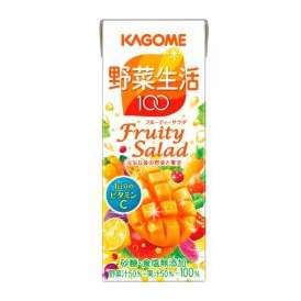 カゴメ 野菜生活100 フルーティサラダ [紙パック200ml×24本]