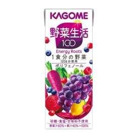 カゴメ 野菜生活100 エナジールーツ [紙パック 200ml×24本]