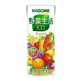 カゴメ 野菜生活100 オリジナル [紙パック 200ml×24本]
