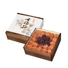 最高級 南高梅「七福梅」 1.0kg (焼杉木箱入り) [41G60]