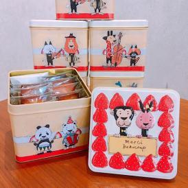 動物ケーキ缶 フィナンシェ10個入