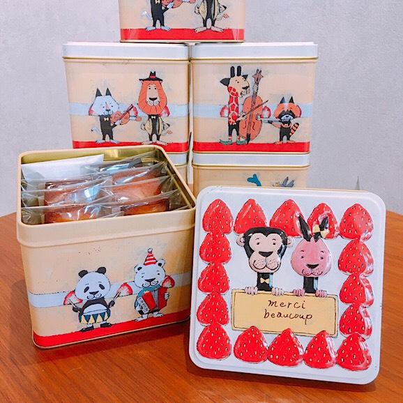 動物ケーキ缶 フィナンシェ10個入01