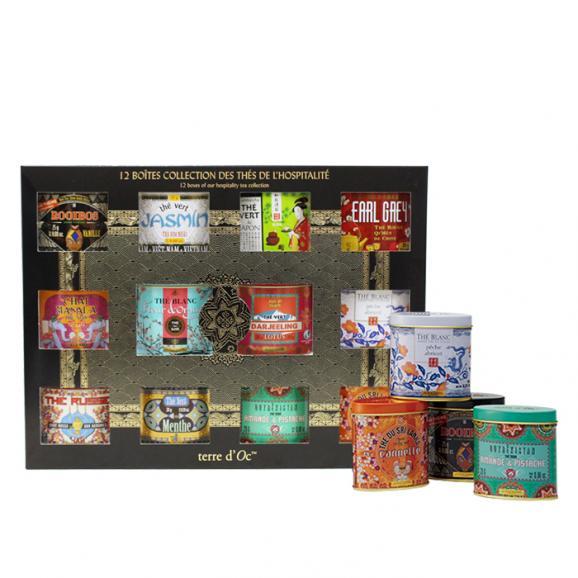 terre d'Oc 世界を旅するお茶12缶ギフトセット01