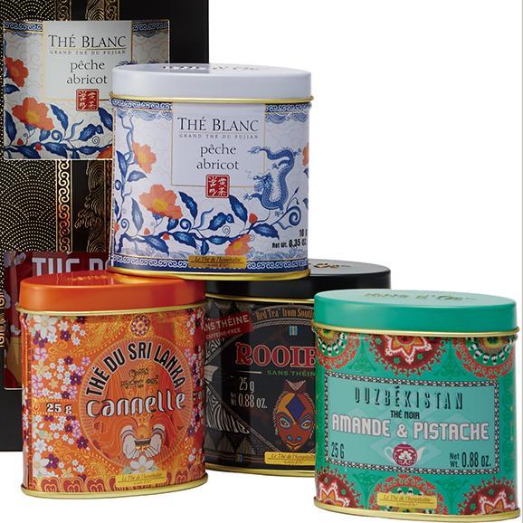 terre d'Oc 世界を旅するお茶12缶ギフトセット02