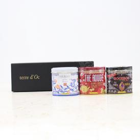 terre d'Oc ホスピタリティーティー Sサイズ缶3PボックスギフトA