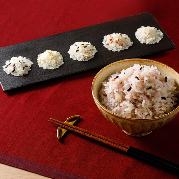 ろのわの有機雑穀米セット01