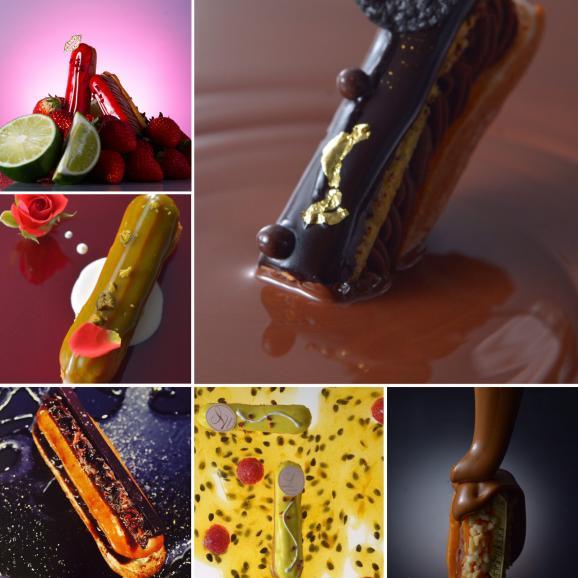 厳選された6種類の異なるフィリング プレミアムな 生チョコレート エクレアートショコラ プレミアム ECLAIR-ART CHOCOLAT05