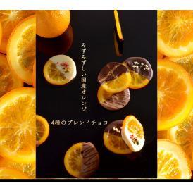 みずみずしい国産オレンジと4種のブランドチョコのハーモニー オランジェット キャトル ORANGETTE QUATRE
