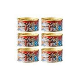 木の屋 石巻水産 いわし 醤油味付け 缶詰 6缶まとめ買い