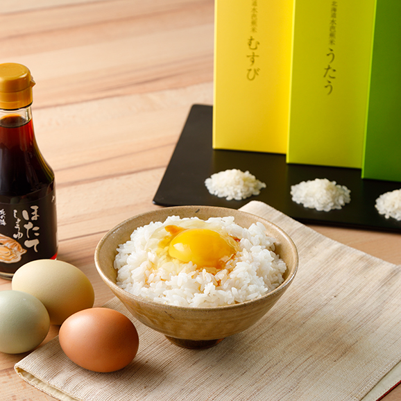 The北海道ファーム特選 卵かけごはんギフト01