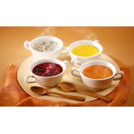 糸のスープ工房糸島有機野菜4種スープセット