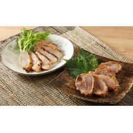 ジュワっと広がる豊富な肉汁と、柔らかくも程よい弾力ある食感の「黒さつま鶏灰干し」