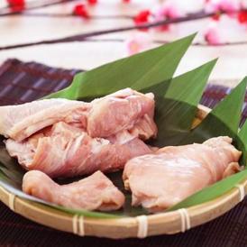 宮城県白石蔵王の平飼い地鶏 竹鶏一黒シャモ≪丸鶏:モモ2枚、ムネ2枚、ササミ2枚≫
