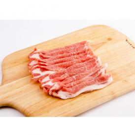 放牧と国産飼料で育った田んぼ豚の精肉 ローススライス