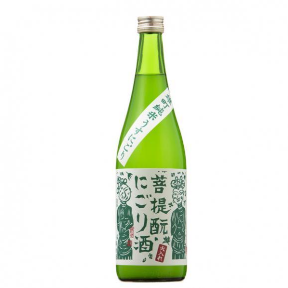 御前酒 純米 菩提酛にごり酒火入れ - 720ml01