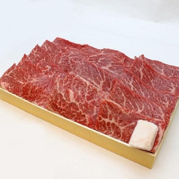 国産牛 モモ焼肉用折詰 1折 600g 入 (約4人前)02